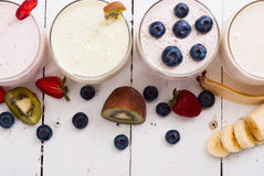 Fruit smoothies Stock Photography