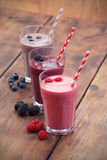 Fruit smoothies Royalty Free Stock Photo