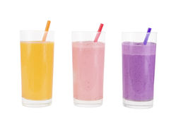Fruit smoothies Royalty Free Stock Image