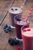 Fruit smoothies Royalty Free Stock Photos