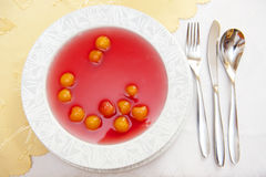 Fruit soup Royalty Free Stock Photography