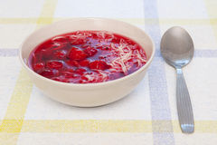 Fruit soup Royalty Free Stock Image