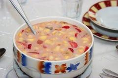 Fruit soup Royalty Free Stock Photos