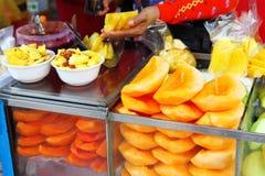 Fruit spice in street market Royalty Free Stock Photos