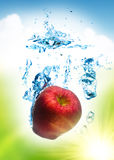 Fruit splash Royalty Free Stock Images