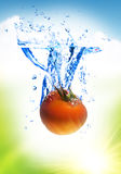 Fruit splash stock images