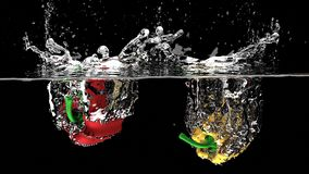 Fruit, Splash, Fresh, Liquid, Water Stock Photos