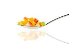 Fruit spoon Royalty Free Stock Photos