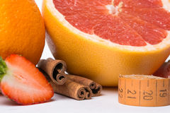 Fruit sports nutrition Stock Images