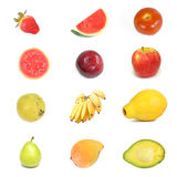 Fruit Square Stock Photography