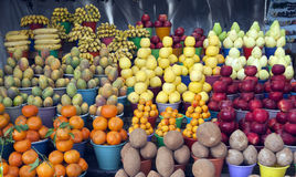 Fruit stall Royalty Free Stock Images