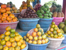 Fruit stall. In Bali Royalty Free Stock Image