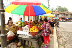 Fruit stall in Bali Royalty Free Stock Photo
