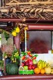 Fruit stall Royalty Free Stock Photos
