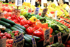 Fruit Stall at Farmers Market Royalty Free Stock Images
