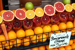 Fruit stall istanbul Stock Images