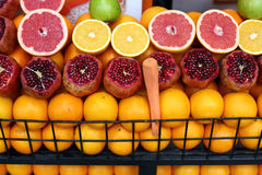Fruit stall istanbul royalty free stock photo