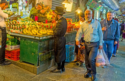The fruit stall Royalty Free Stock Photos