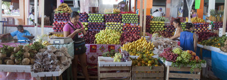 Fruit stall Stock Photos