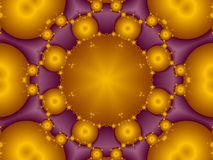 Fruit stall. Richly colored fractal kaleidoscope pattern Stock Photo