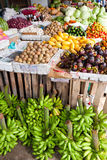Fruit stand. A fruit stand at a Philippine market Stock Images