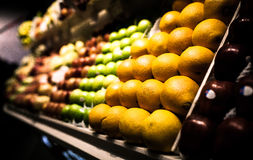 Fruit stand Royalty Free Stock Images
