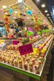 Fruit stand in La Boqueria, Barcelona Stock Images