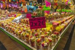 Fruit stand in La Boqueria, Barcelona Stock Image