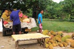 Fruit stand in Sri Lanka Stock Photos