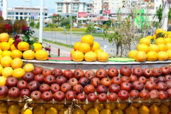 Fruit stand Royalty Free Stock Image