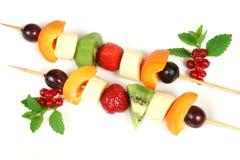 Fruit on a stick Stock Photo