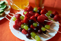 Fruit on a Stick Royalty Free Stock Photo