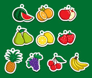 Fruit Sticker Stock Images
