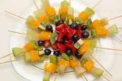 Fruit Sticks Royalty Free Stock Images