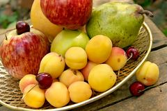 Fruit still-life Stock Photo