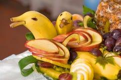 Fruit still-life. The fruit still-life decorates a celebratory table Stock Photos
