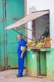 Fruit store in Havana , Cuba Stock Image