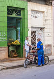 Fruit store in Havana , Cuba Stock Photography