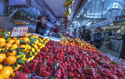 Fruit store at the Market Stock Images