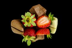 Fruit, Strawberries, Strawberry, Natural Foods stock photography