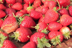 Fruit strawberry. Fresh red strawberry close up Stock Image