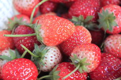 Fruit strawberry. Fresh red strawberry close up Stock Photo