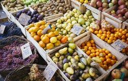 Fruit in street market Royalty Free Stock Photo