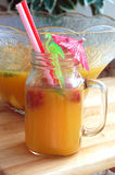 Fruit Summer Drink Stock Images
