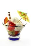 Fruit sundae Stock Photos