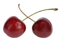 Fruit a sweet cherry Royalty Free Stock Photography
