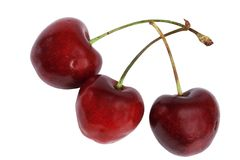 Fruit a sweet cherry Royalty Free Stock Images