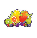 Fruit tag Royalty Free Stock Photo
