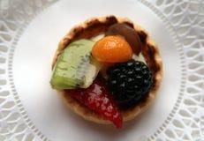 Fruit Tart. A dainty and delicious fresh fruit tart Stock Photo