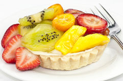 Fruit tart Stock Photography